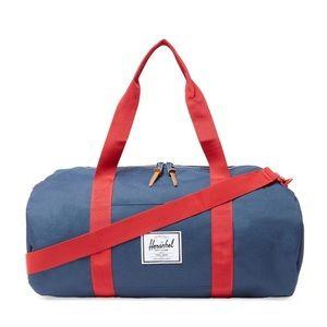 Herschel Navy and Res Duffle Bag